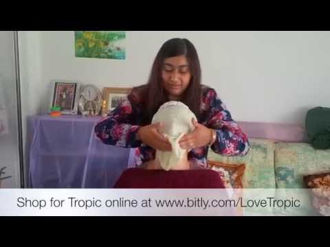 Shabari presents a Tropic Facial using Natural, Vegan, Organic, Plant Skincare Products