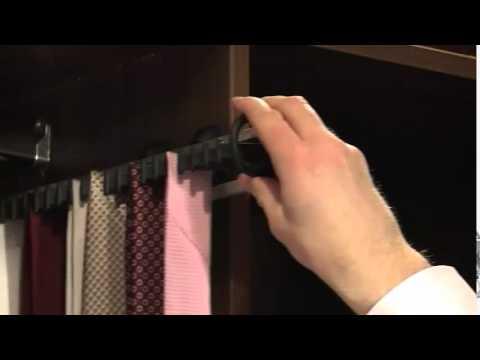 галстучница для шкафа