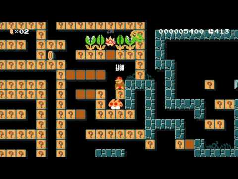 Think Small: Beating GameSack's Super Mario Maker Levels!