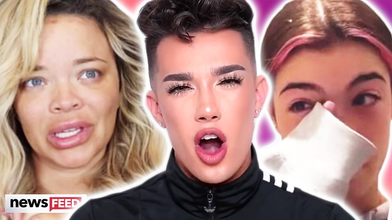 James Charles GOES OFF On Trisha Paytas For Dragging Charli D'Amelio!
