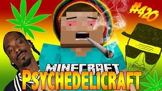DRUGS IN MINECRAFT ?! Psychedelicraft Mod Showcase - Weed & Cocaine & Hallucinations [ 1.7.2 ]