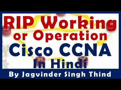 रूटर RIP Working or Operation - Routing - Part 23