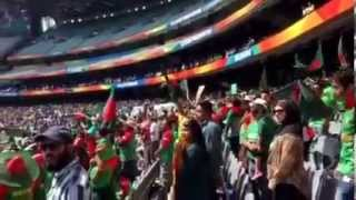 Bangladesh National Anthem at Melbourne Cricket Ground ICC World Cup 2015