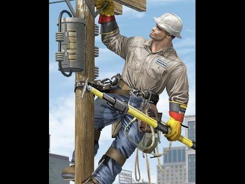 Que es ser un liniero electricista what is a lineman for Trabajo de electricista en malaga