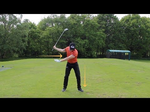 STOP RUSHING THE DOWNSWING (SIMPLE DRILL!!)
