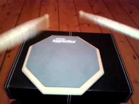 ARF7GM Evans RealFeel 7 inch Apprentice drummers practice Pad