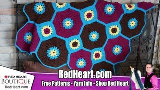 Crochet Octagon & Square Throw Tutorial, Video 1