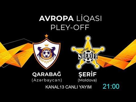 GARABAGH (Azerbaijan) 3-0 SHERİFF (Moldova) Карабах 3-0 Шерифф - QƏLƏBƏ!! (Tam Oyun)