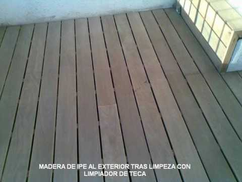 Ecopinttors, tratamiento madera terraza madera tropical