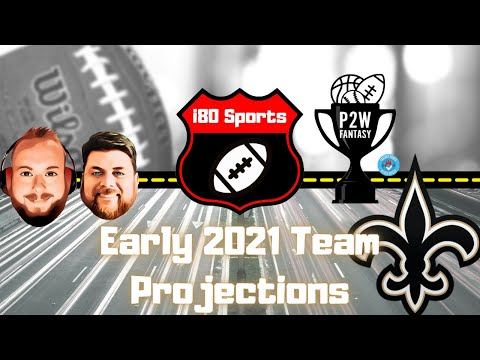 Early 2021 NFL Projections- New Orleans Saints