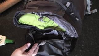 Waterproof lightweight foldable backpack LYS-TV007