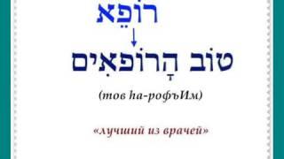 Урок № 34  Существительные и прилагательные   словосочетания и предложения в иврите
