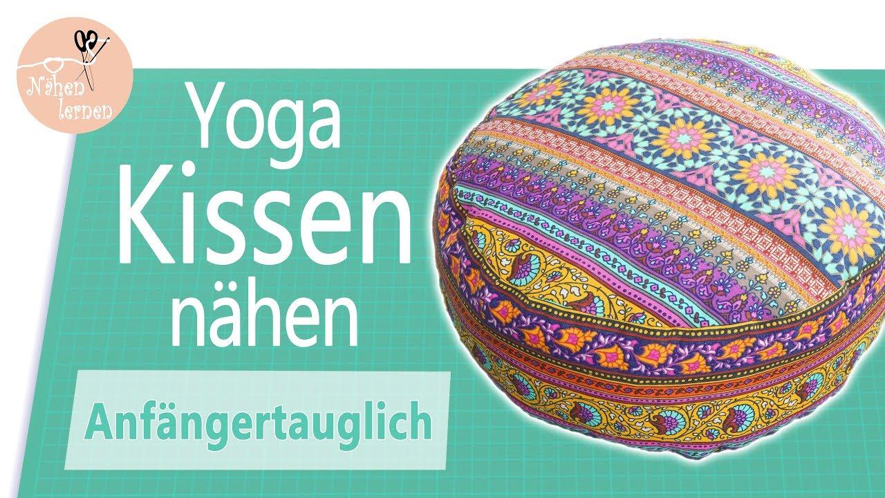 Häufig Yogakissen / Sitzkissen nähen für Anfänger - ohne Schnittmuster TJ89
