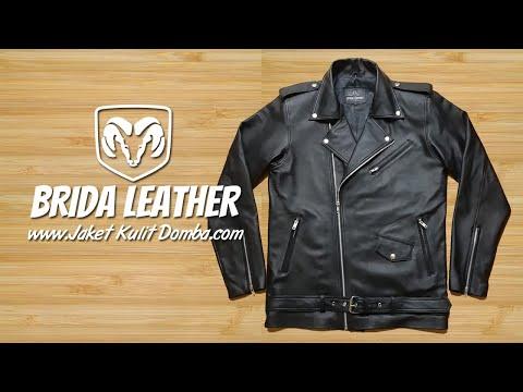 Jaket Kulit Domba Super Bikers Asli Garut   Brida leather Jacket - www jaketkulitdomba com from YouTube · Duration:  4 minutes 33 seconds