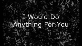 Foster The People - I Would Do Anything For You LYRICS