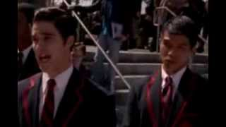 Glee - Somewhere Only We Know FULL PERFORMANCE SUBTITULADO