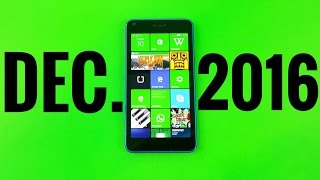 What's On My Windows Phone December 2016?