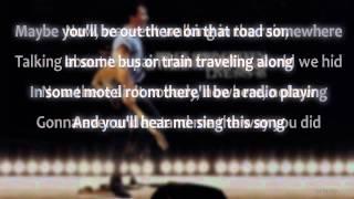 Bruce Springsteen - Bobby Jean (Live 1975-85) With Lyrics