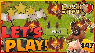 CLASH OF CLANS : 3 STELLE CON STREGHE?? #47