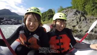 静岡富士川ラフティング フレンズ Friends Rafting《短編動画RSM7-8》