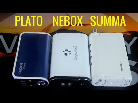 Artery Summa Review | Combination Of The Aspire Plato & NEBOX?