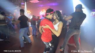 NOELIA & MELISSA  Sensual Bachata Social Dance At THE SALSA ROOM
