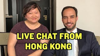 LIVE FROM HONG KONG: Chris and Shelley Answer Fan Questions | China Uncensored