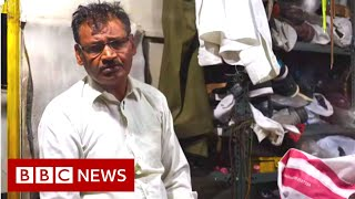 From making shoes to breaking news in India - BBC News / Видео