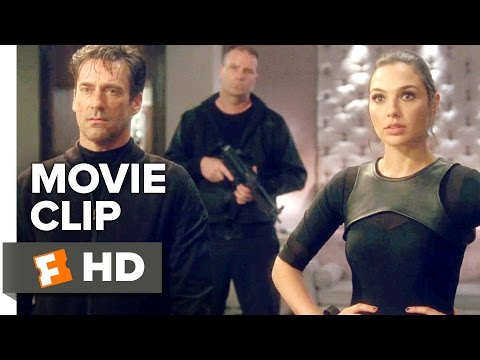 Keeping Up with the Joneses Movie CLIP - Together (2016) - Gal Gadot Movie