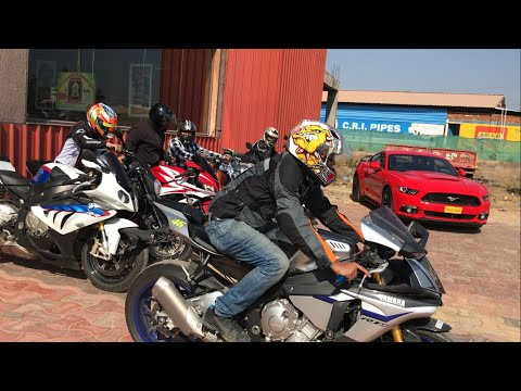 Indians first Yamaha R1M | Hyderabad sports bikes