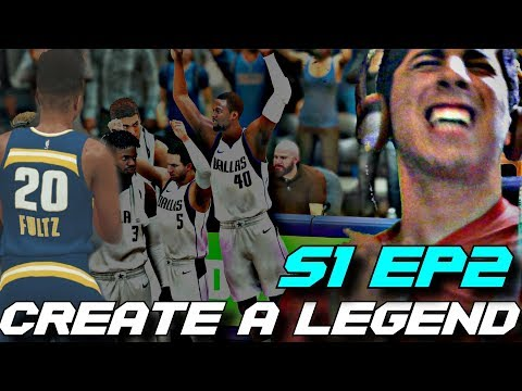 Fultz needs help... his teammate dropped 35... CREATE A LEGEND V2 S1 Ep2
