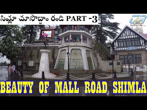 Mall Road In Rain | Beauties Everywhere | My Shimla Trip | Day 3 | Cheap Shopping | GoPro Hero 5