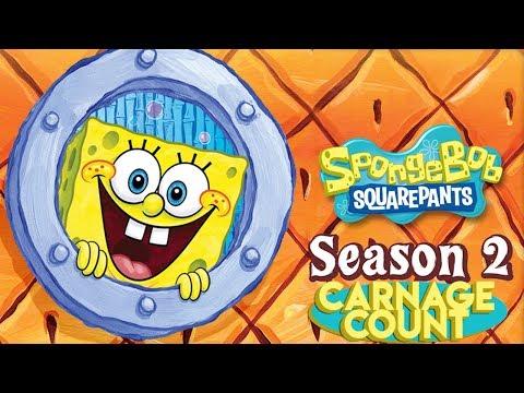 Spongebob Squarepants Season Two (2000) Carnage Count