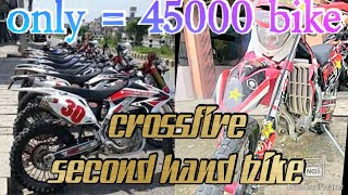 Crossfire || second hand bike in pokhara || crossfire || R15 v3 || Vr 150 || Ns 200 || scooter | SSM