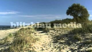Stock Footage Europe Germany Baltic Sea Heiligendamm Börgerende Mecklenburg Ostsee Strand Urlaub