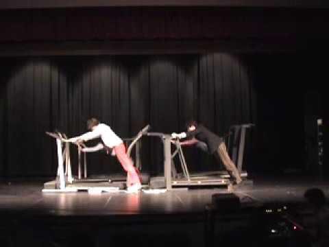 Mr. GV Ok Go Here It Goes Again Treadmill Video