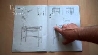 видео Отзыв о Каркас двухъярусной кровати IKEA ТРОМСО – Двухъярусная Кровать Ikea