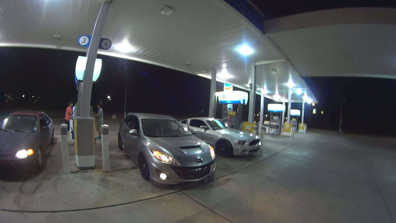 Big Turbo Mazdaspeed 3 vs Mustang GT 5 0 & Turbo Civic D16