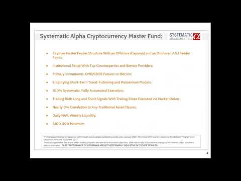 systematic alpha cryptocurrency fund
