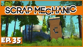 Scrap Mechanic - Ep. 35 - Transforming Outhouse Vehicle! - Let