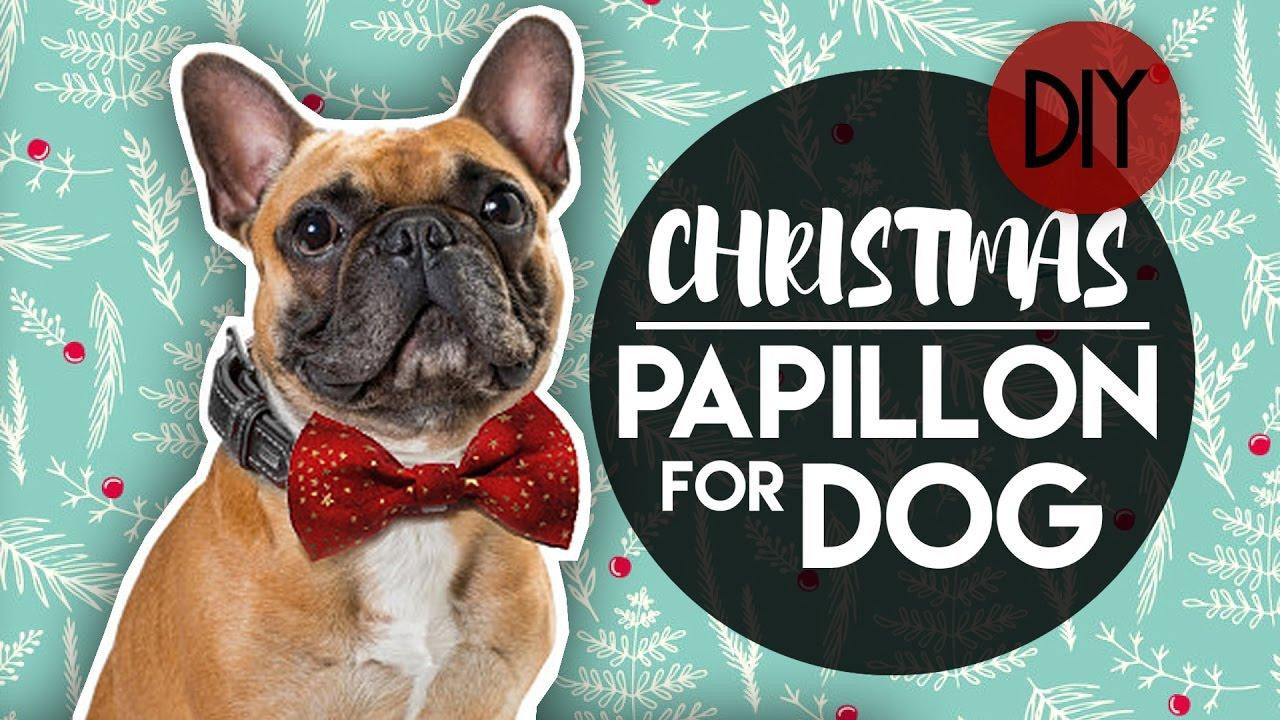 Christmas Easy Bow Tie For Dog Collar Papillon Farfallino Per Cane