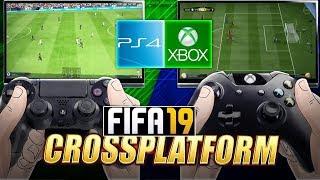 FIFA 19 PS4 VS XBOX ONE NEW GAME MODE? FIFA 19 CROSSPLATFORM INFO !!!