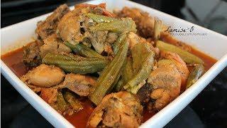 Haitian Stew Chicken With Okra  Easy Recipe  Episode 194