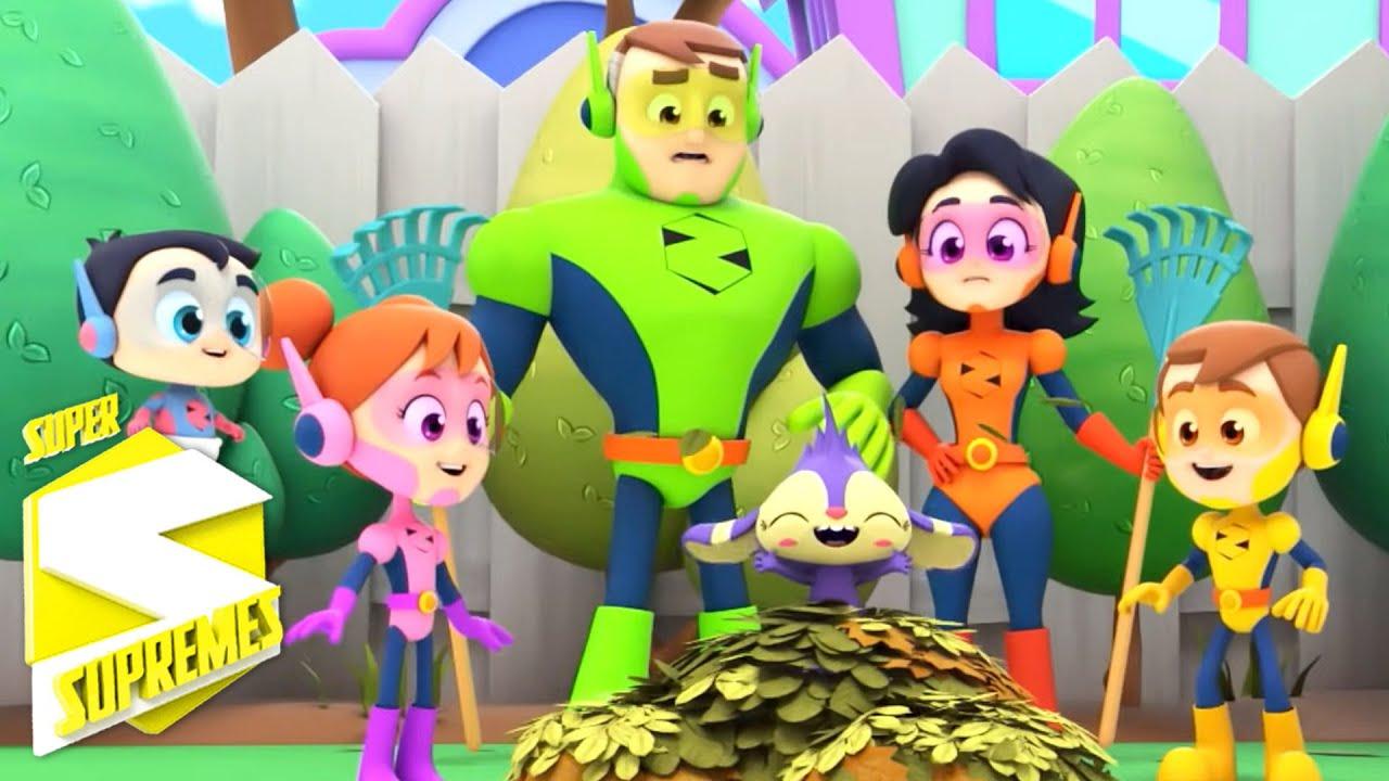 Muchas manos   Canciones infantiles   Educación   Super Supremes Español   Dibujos animados