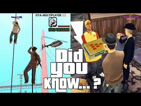 GTA San Andreas Multiplayer Secrets and Facts
