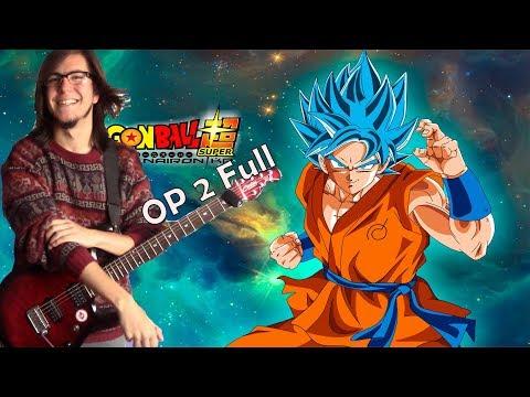 Dragon Ball Super Opening 2 Full -Genkai Toppa × Survivor 【One Man Band Cover】