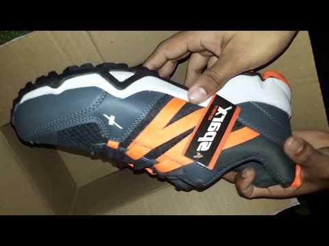 Sparx 284 Men Dark Grey Orange Sport
