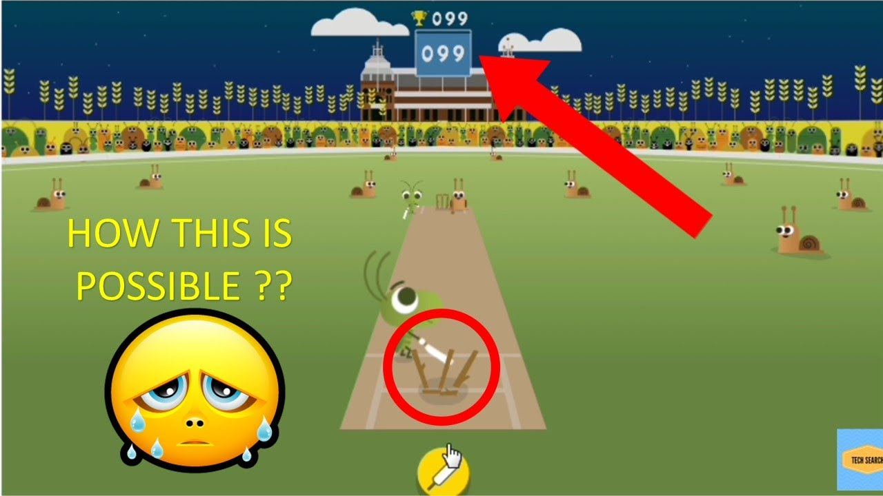 Google Cricket Doodle Youtube