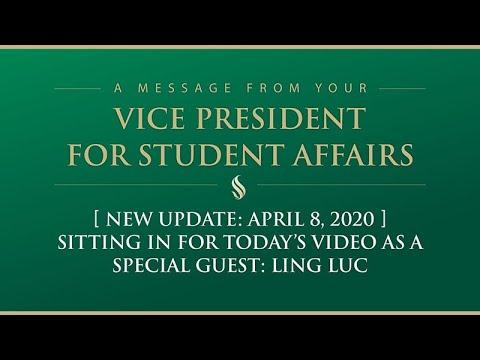 Campus Update - Student Service Center - April 8, 2020