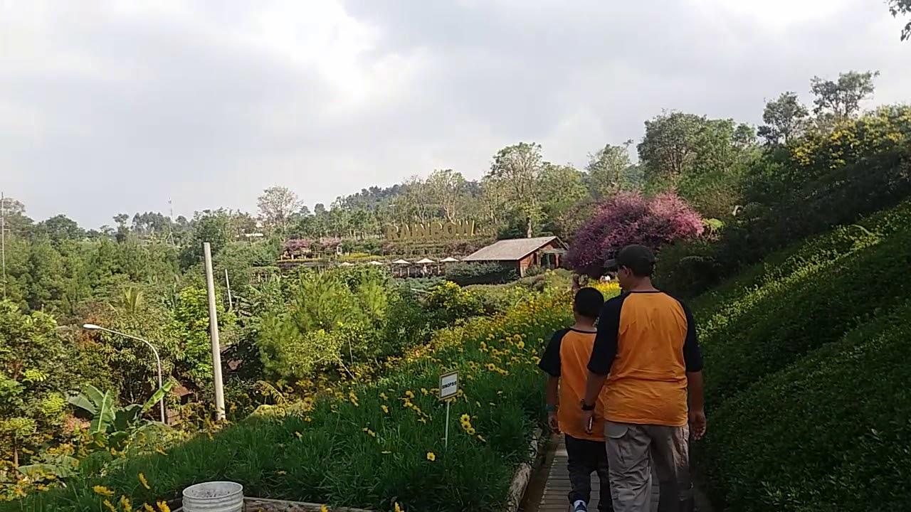 Wisata Lembang bandung..SERU!! Rainbow garden..Floating ...